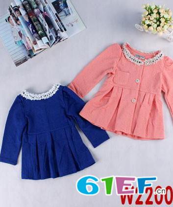 逗龙王子童装品牌中大童服装外装2015年春夏新品