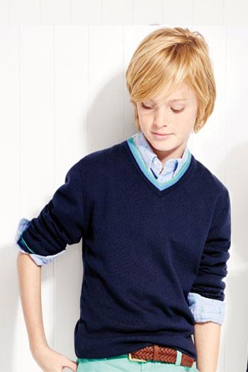 Brooks Brothers布克兄弟中大童服装2015年秋季新品