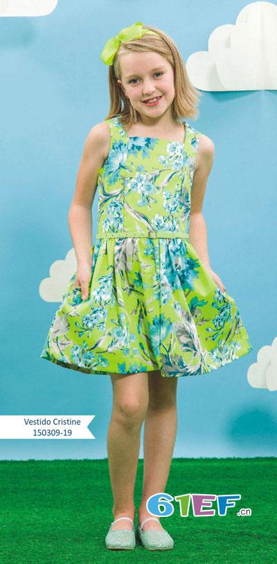 Miss Cecile童装品牌中大童服装2015年春夏新品