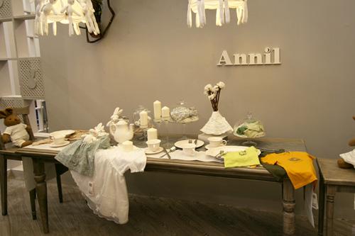 安奈儿童装店铺形象