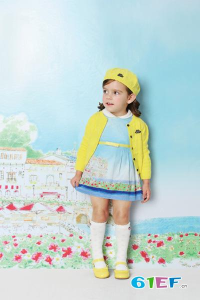ELLE龙8国际娱乐官网品牌中小童2015年春夏新品