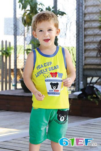 奇喜童装品牌婴幼儿服装2015年春夏新品