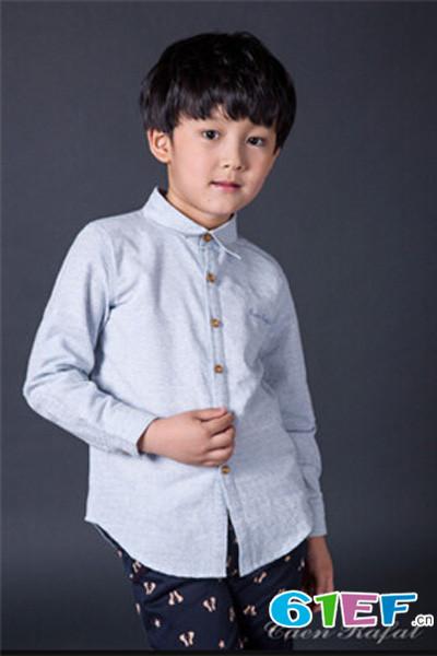 卡昂拉法(Caen Rafal)童装品牌中大童服装套装2015年春夏新品