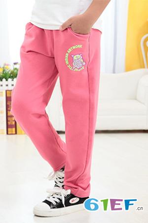 布丁娃童装品牌中大童服装裤子2014年秋冬新品