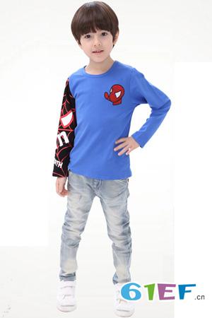 布丁娃童装品牌中大童服装裤子2015年春夏新品