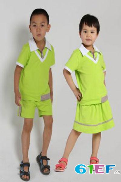 小麻花龙8国际娱乐官网品牌中大童服装套装2014年秋冬新品