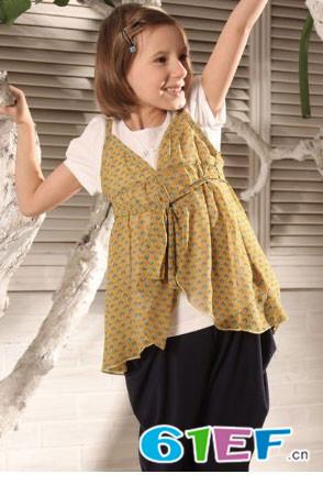 玛卡西童装品牌中大童服装女童装2015年春夏新品