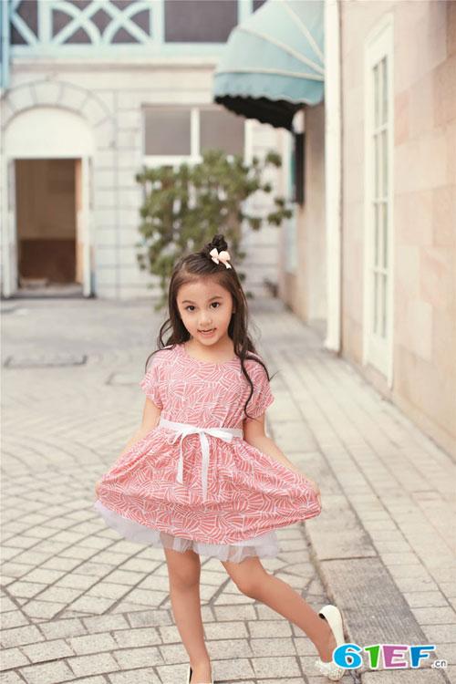艾阿琪童装米雅星品牌中大童服装2015年春夏新品