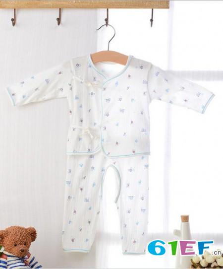 安米小熊童装品牌婴幼儿服装套装2015年春夏新品