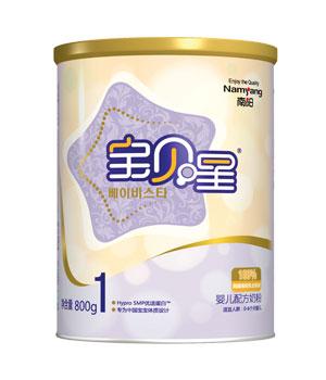 宝贝星婴儿食品 从韩国南阳乳业引进