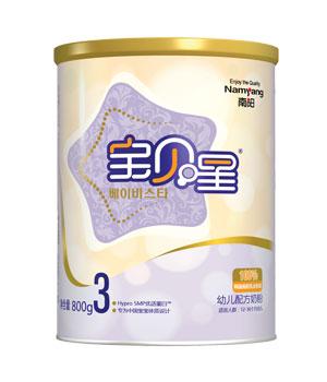 宝贝星幼儿配方奶粉3段800g