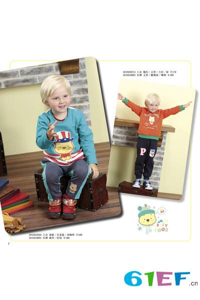 迪士尼童装品牌2015年秋冬新品