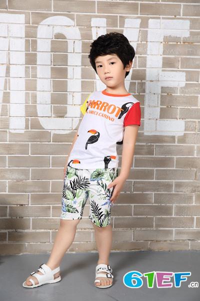 花鱼童话童装加盟品牌紧盯孩子的需求