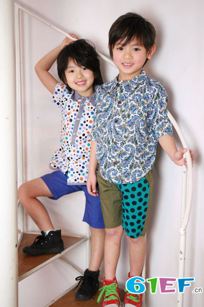 Barock、Schnee童装品牌 注重孩子形象
