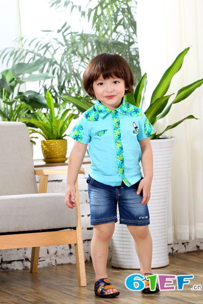 棉果果品牌 面料自动变色童装