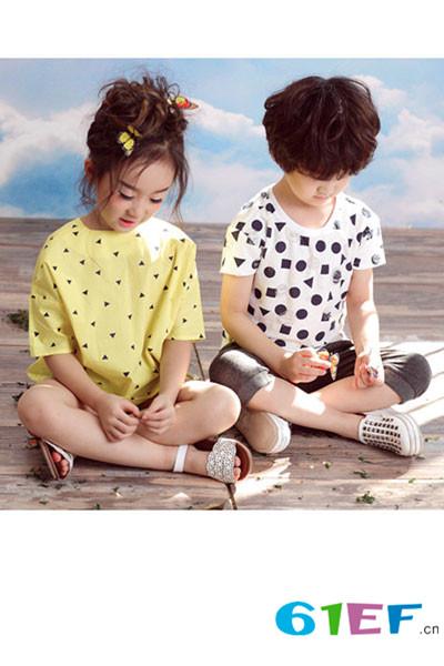 可可鸭童装品牌 高品质原创设计 给孩子一个魔力童年