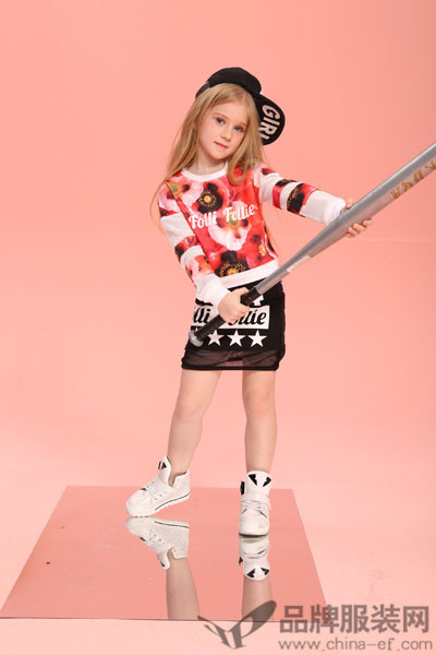 为时尚而奋斗的国际潮牌  Folli Follie童装品牌