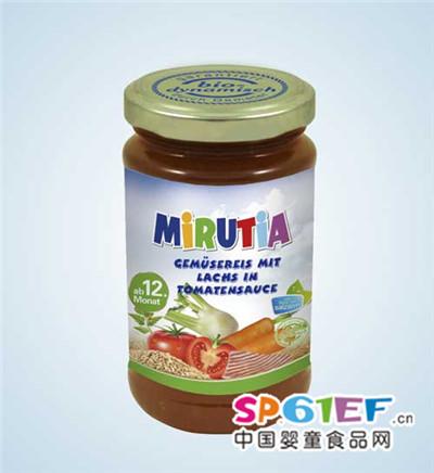 米鲁佳婴儿食品2段罐装新品