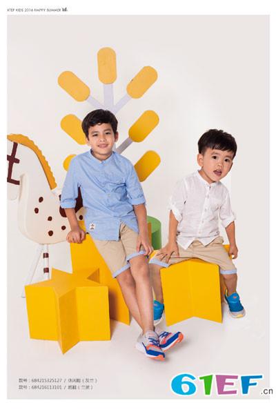 特步儿童XTEP童装品牌每一件衣服都能随心所欲搭配