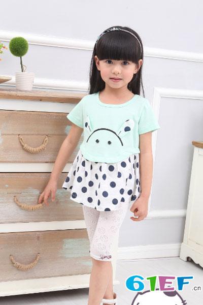 加菲A梦童装品牌 单店面积在20平米以上