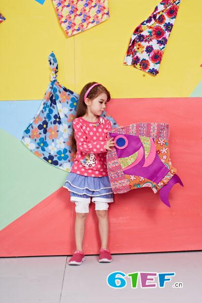 KICCOLY童装品牌 打造出绚烂