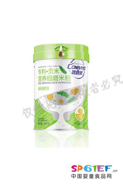 聪贝优营养细磨粉婴儿食品罐装新品