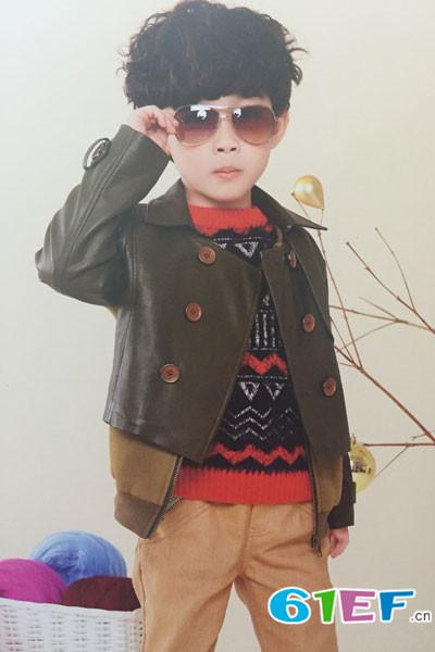 卡叮熊童装品牌     最前沿的潮流童装