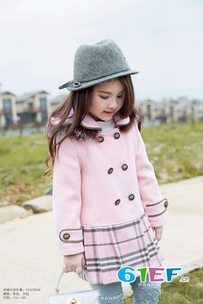 以裙子、大衣为核心的品牌产品 卡莎梦露童装品牌