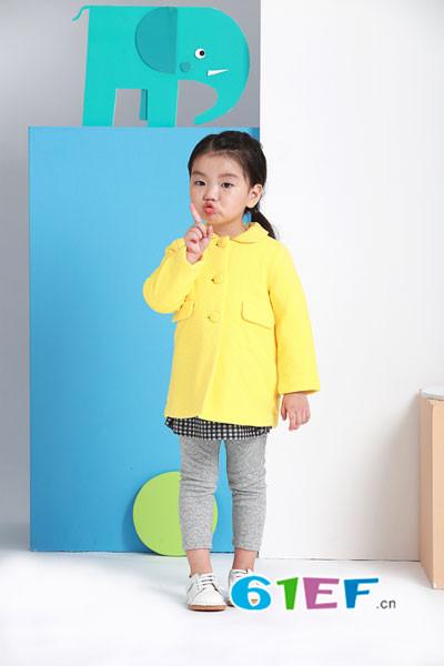 阳光鼠婴童装品牌 辅以悦目的色彩