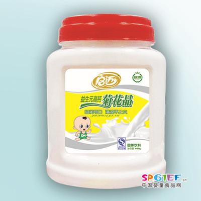 瑞博食品婴儿食品辅食固体益生元高钙菊花晶饮料厂家批发直供