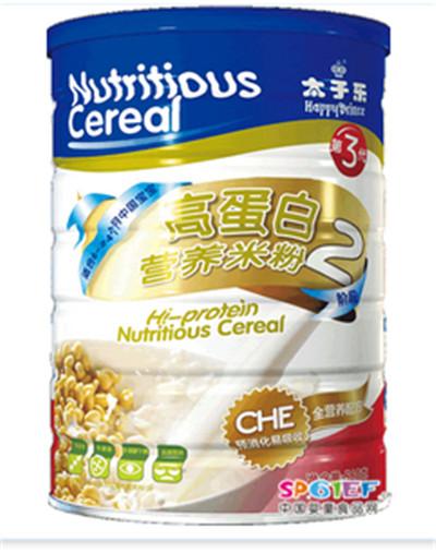 高蛋白营养米粉(第3代)(2阶段)