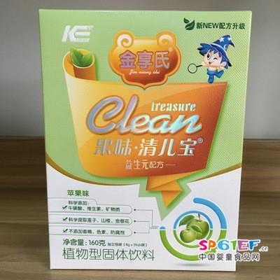金享氏盒装160g 苹果清清宝益生元配方