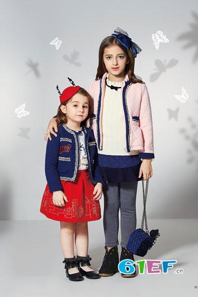 卓维乐童装品牌2016年秋冬新品