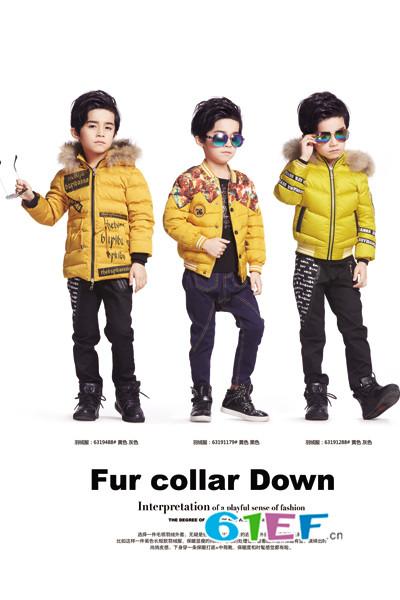 布衣班纳童装品牌2016年冬装新品