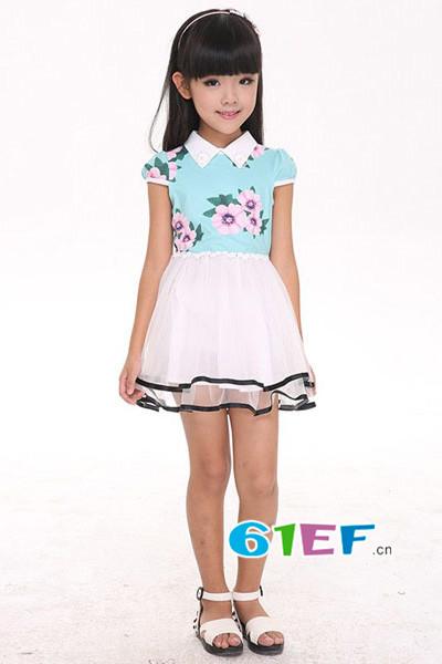 卡儿菲特童装品牌 时尚、自信、简约大气
