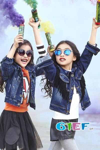 卡叮熊童装品牌2017年春装新品