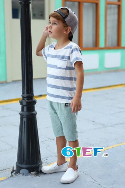 时尚童装品质可靠加盟叽叽哇哇童装坐享好收成