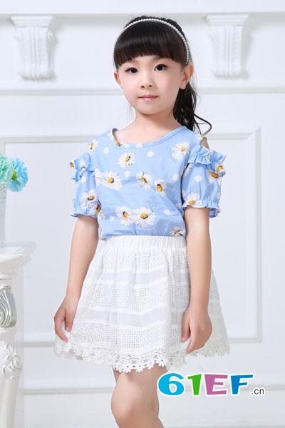 小神童童装品牌2017年春夏新品