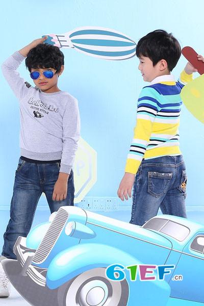 班吉鹿 童装品牌 年龄定位:适合3-15岁的少年儿童