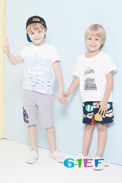WISEMI威斯米童装品牌2017年夏季新品