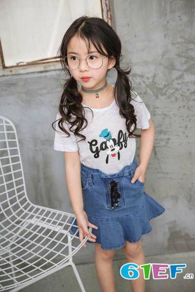 加菲A梦童装品牌2017年夏季新品