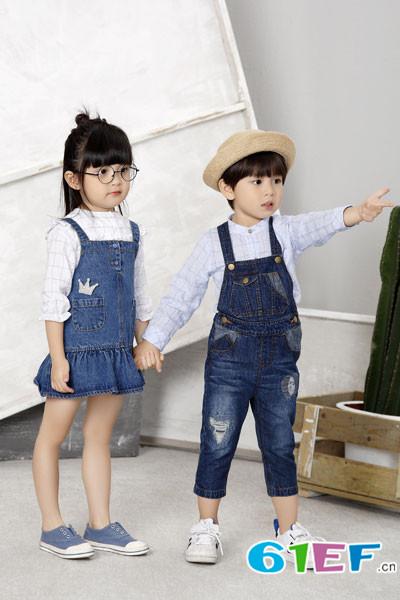 青稚童装新品上市了 看它是怎么玩转2017流行趋势