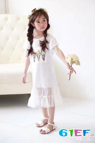 小嗨皮童装专注于0-16岁儿童群体 休闲时尚用品的引领品牌