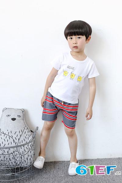 三只小熊童装品牌2017年夏季新品