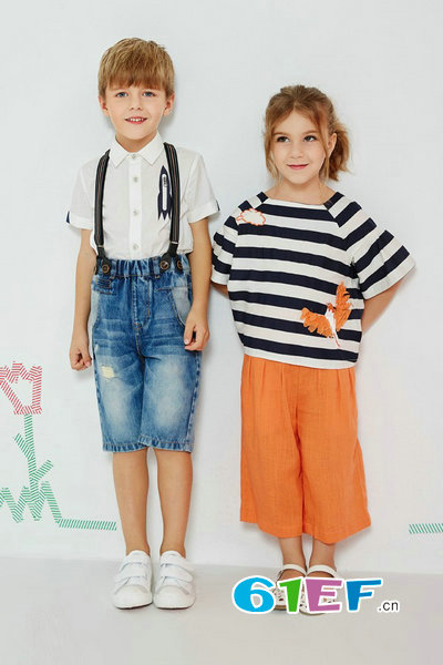 爱法贝童装品牌公司为门店提供100%货架支持