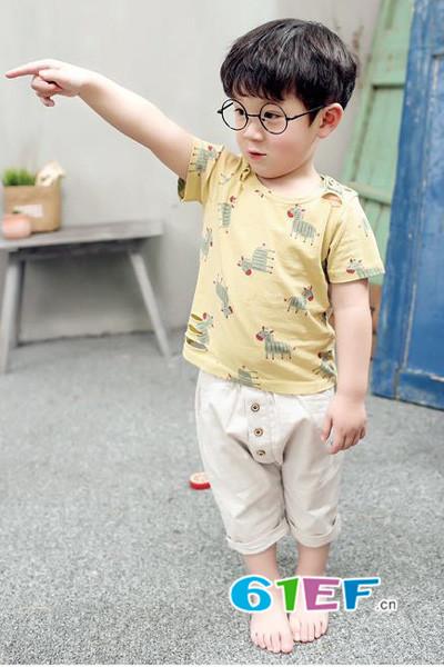 衣童盟童装品牌2017年夏季新品