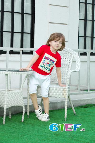 OKstar欧卡星童装品牌,主张自由快乐