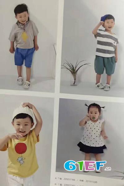 卡叮熊童装品牌2017年夏季