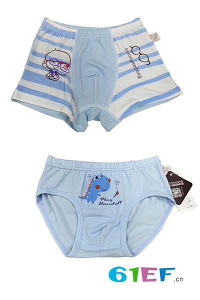 可叮可咚 圣婴比童装品牌2017年夏季男童内裤