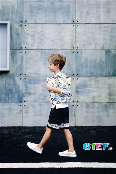 Folli Follie童装品牌2017年夏季潮童运动套装